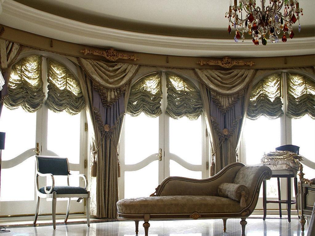 Дизайн штор фото 31