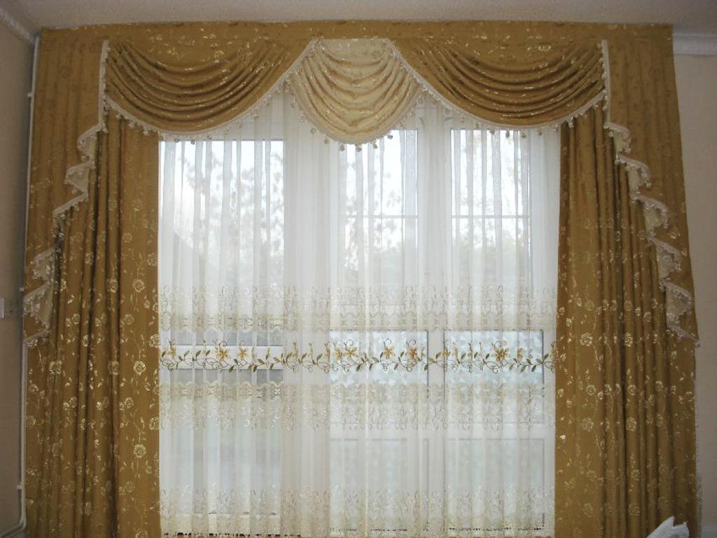 Дизайн штор фото 33