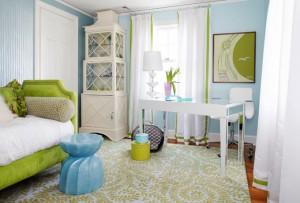 Европейские шторы для детской комнаты