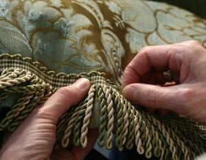 Шикарная ткань для модных штор