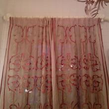 Современные заказные занавески на окно