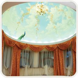 Гибкий карниз для эркерного окна