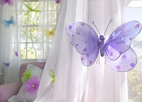 Как сделать бабочку для штор