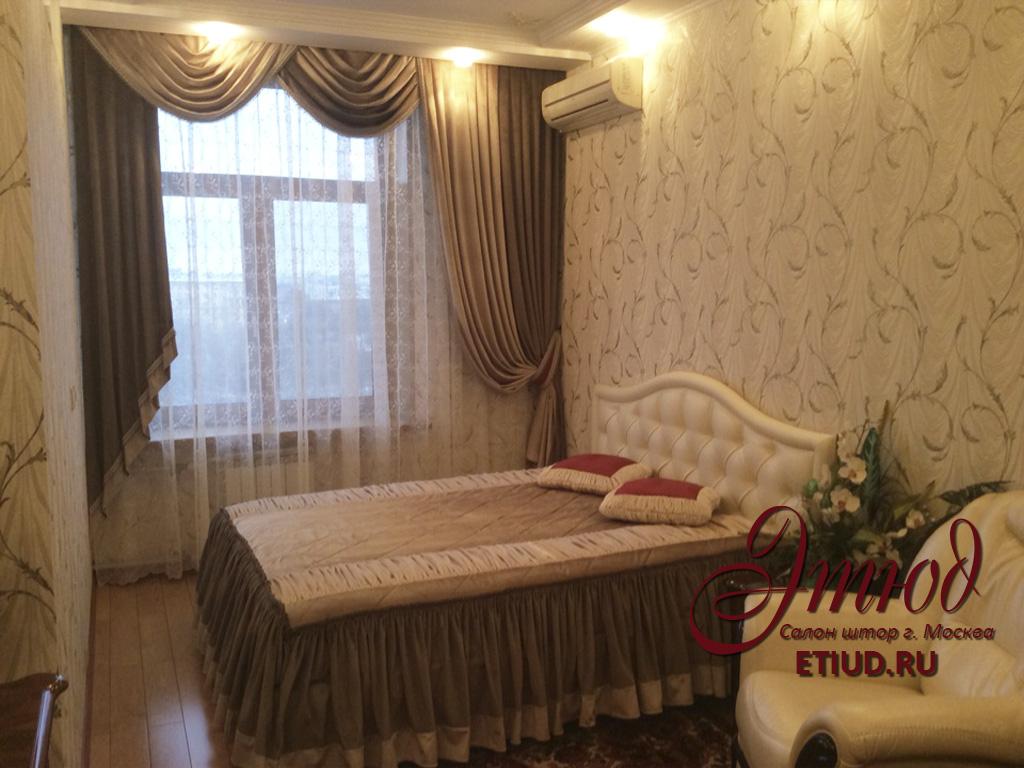 Пошив штор и покрывал в Москве