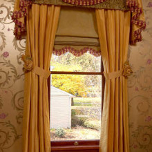 Дорогие и красивые шторы для кабинета