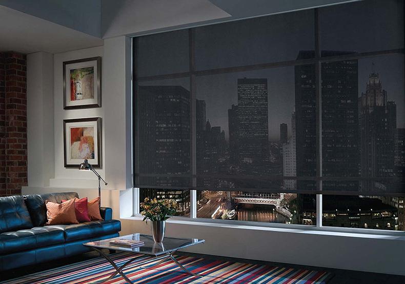рулонные шторы светоотражающие
